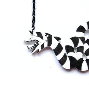 Image of Beetlejuice Sandworm Necklace