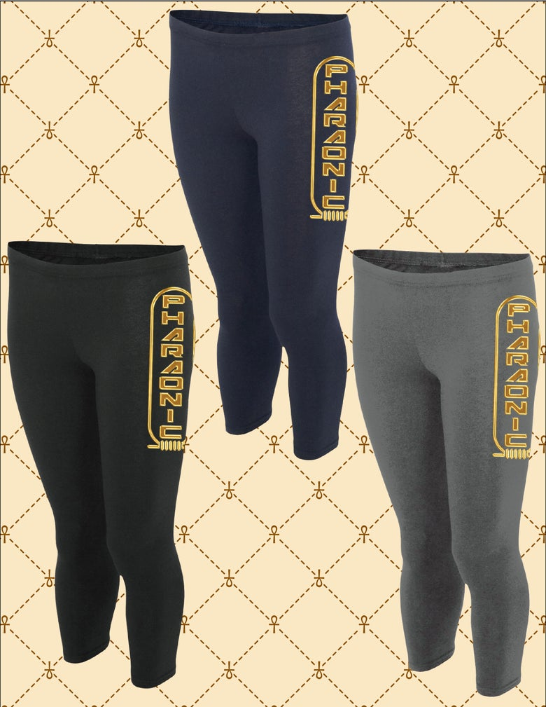 Image of WOMEN'S PHARAONIC SHEN LOGO TIGHTS