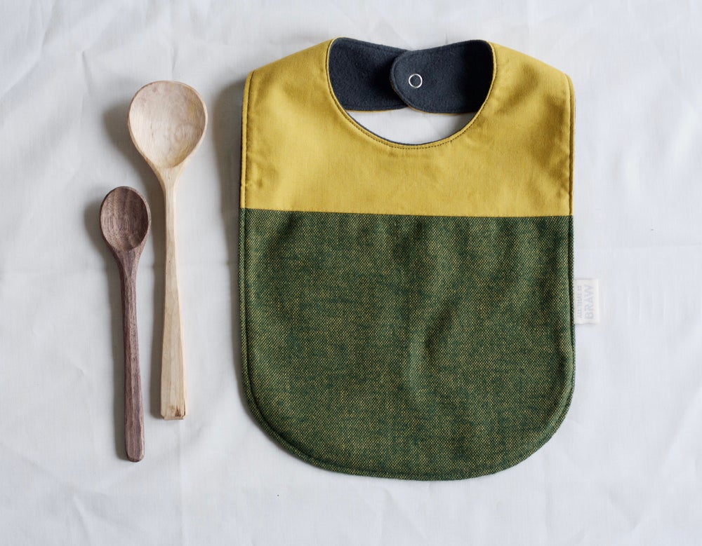Image of Relish Bib // Feeding Dribble Baby bib