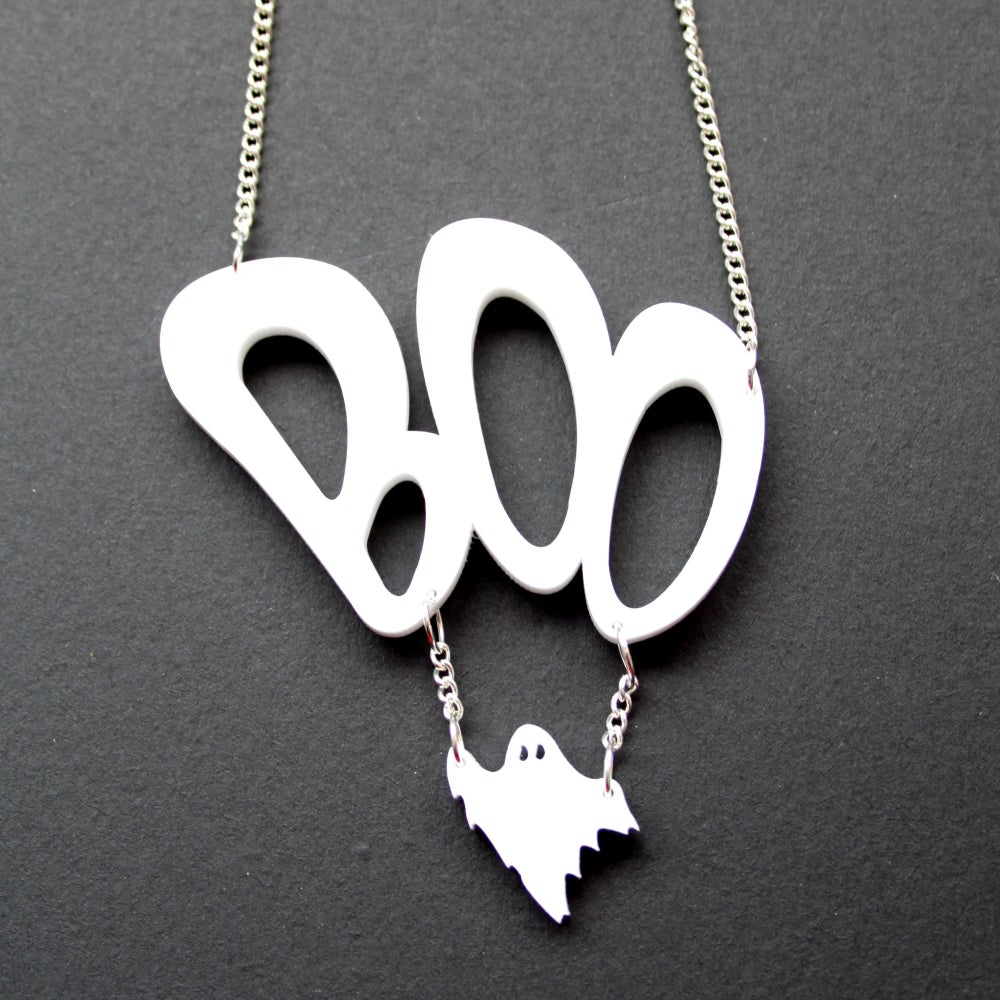 Image of Boo Ghost Necklace