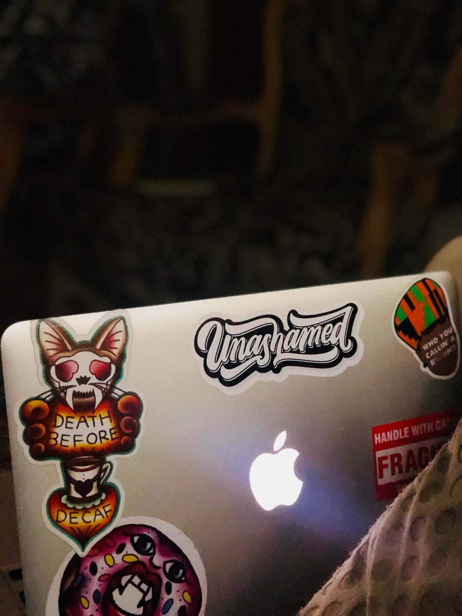 Image of Unashamed Sticker