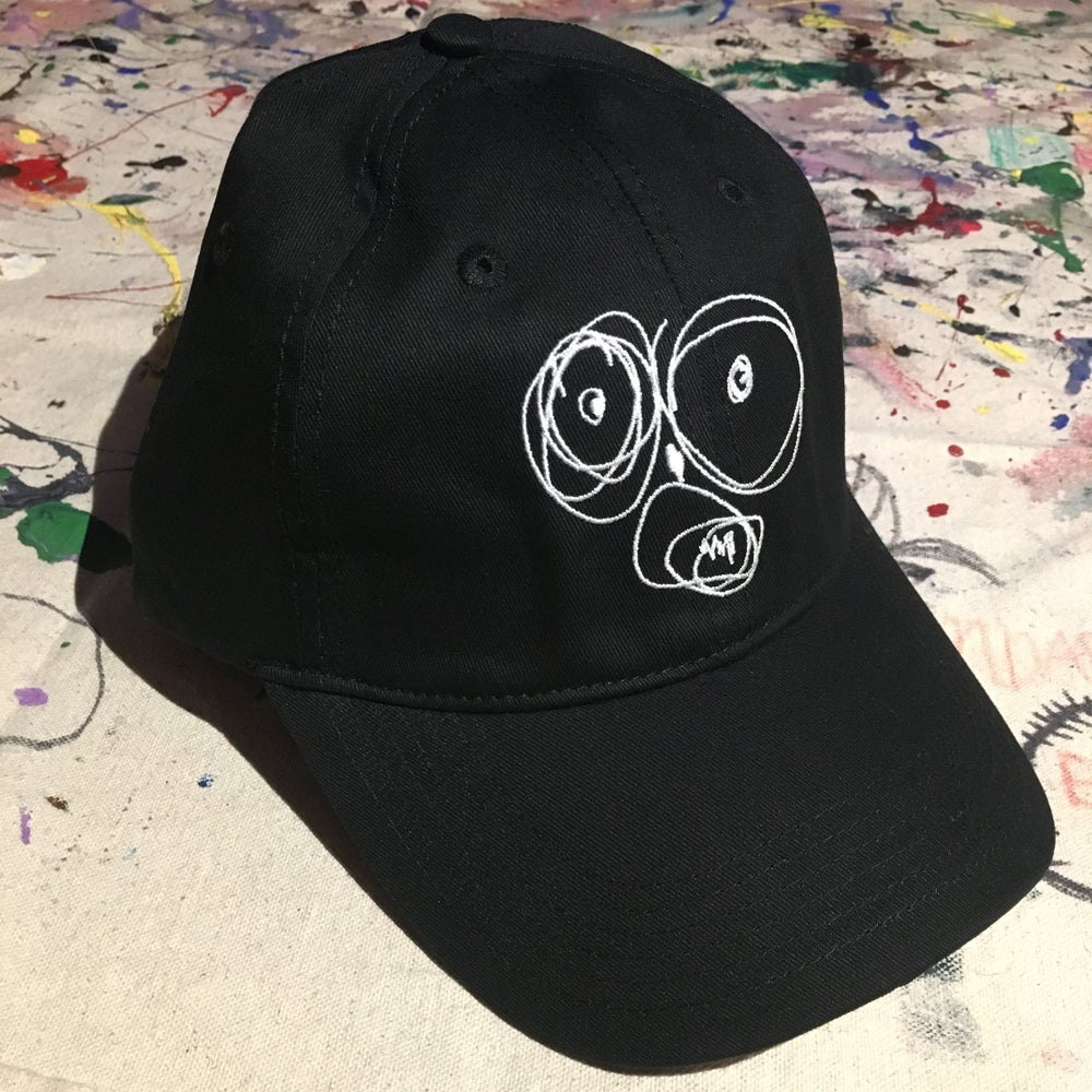 Image of OG Scribble Face Dad Hat