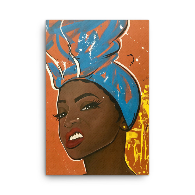 Image of Try Me Canvas Print