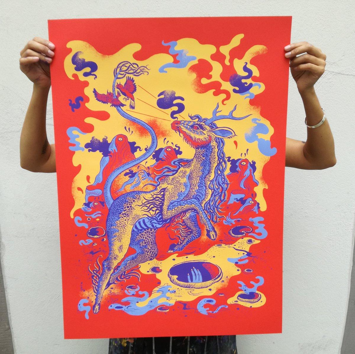 Art Print LUNAR ESCAPE (2018)