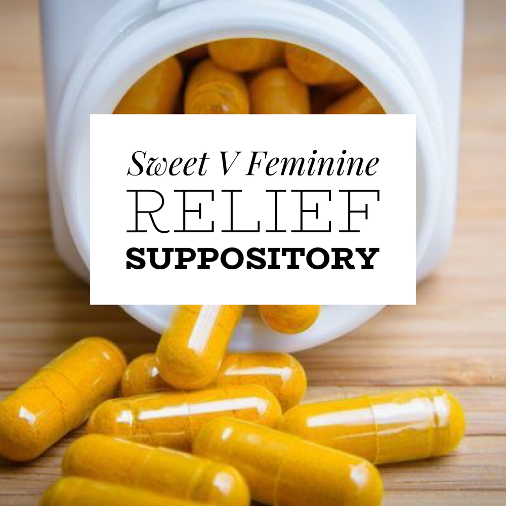 Image of Feminine Relief  Balance & cure Suppositories