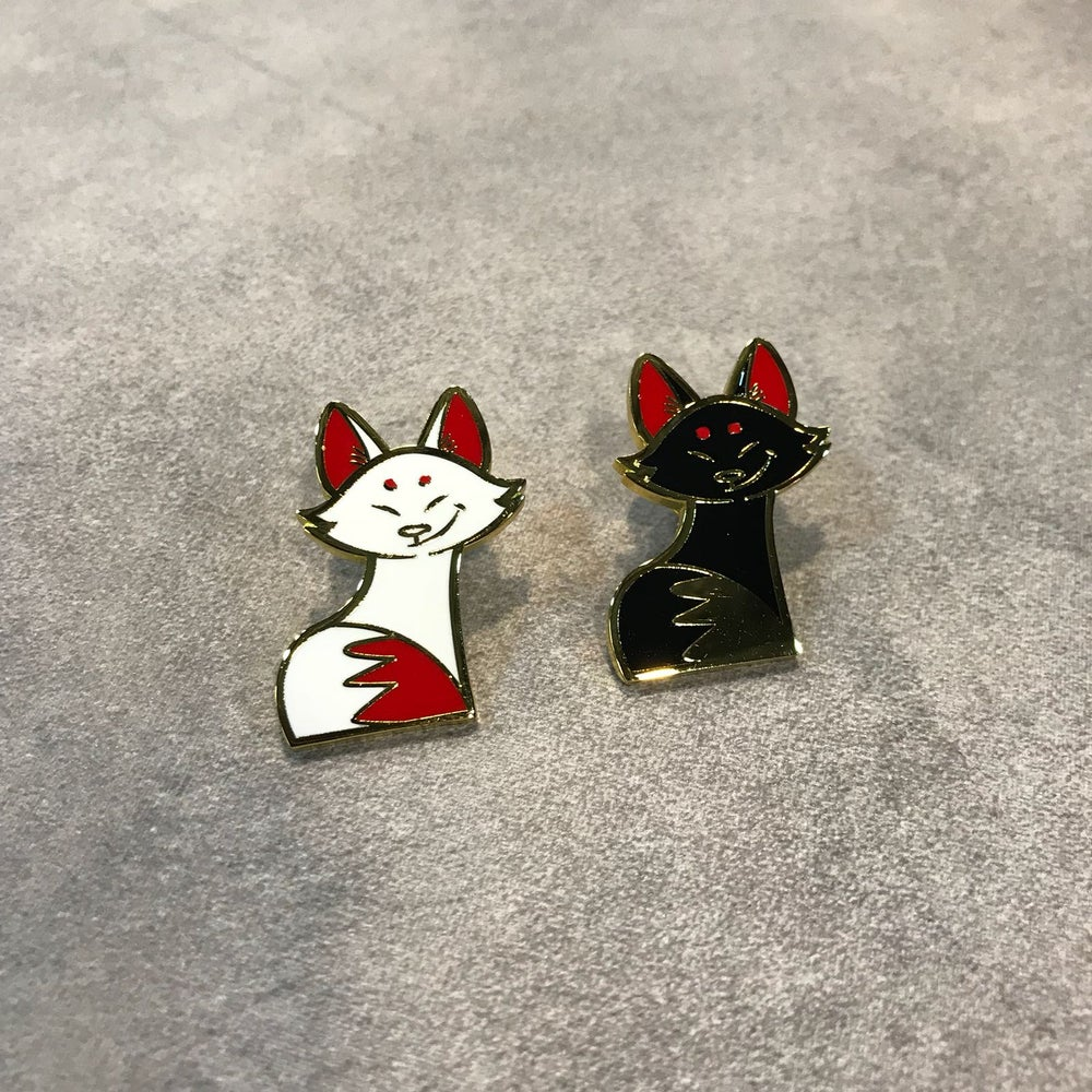 Image of Kitsune Pins