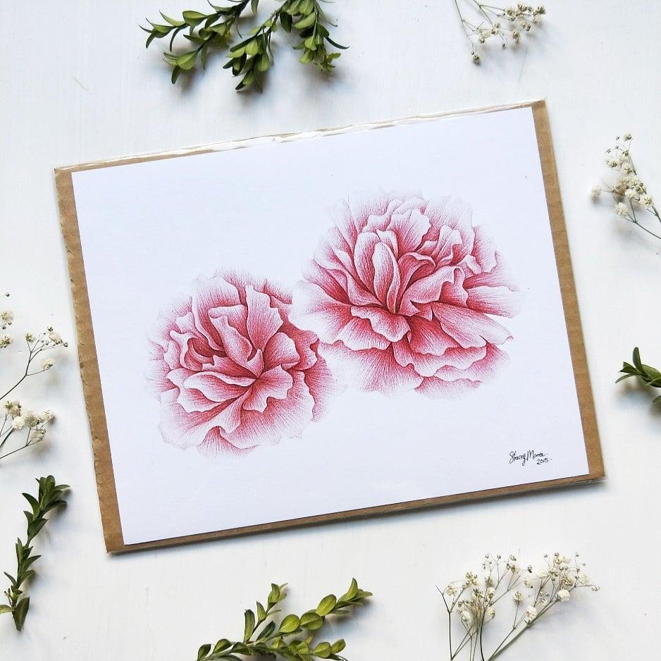 Image of Pink Peonies - Art Print
