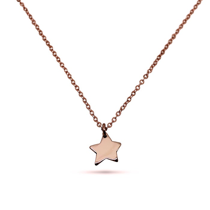 "Image of ""Little Star"" 9ct Rose Gold Necklace"
