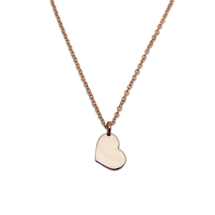 "Image of ""Little Heart"" 9ct Yellow Gold Necklace"