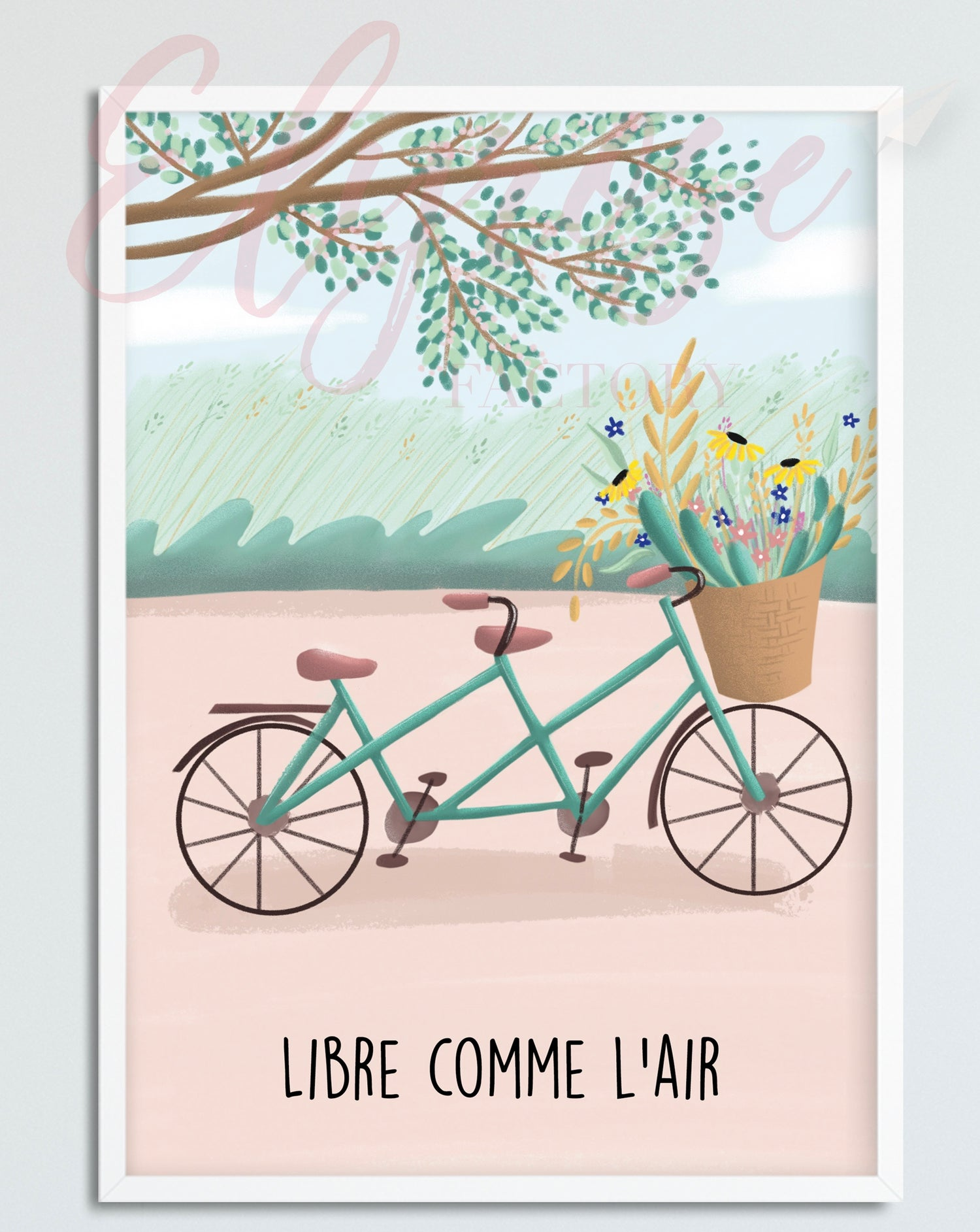 Image of Affiche Libre comme l'air