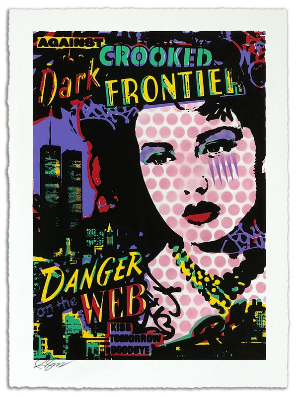 Image of Against the Dark Crooked Frontier
