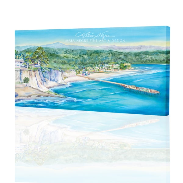 Image of Trees to Capitola Giclee Print