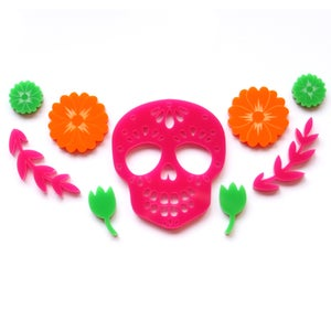 Image of Day of the Dead Necklace