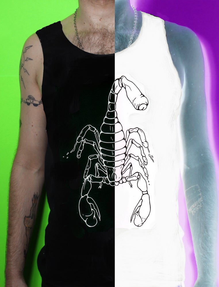 Image of Scorpio Rising - TANK (Black or White)