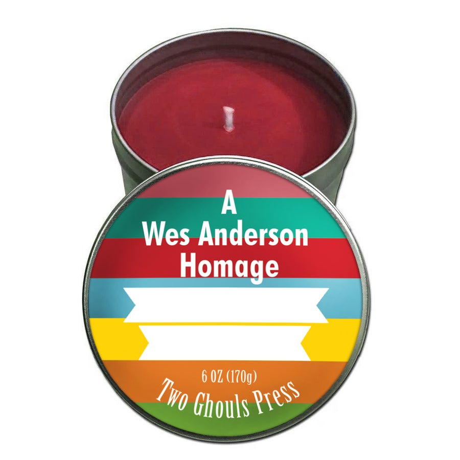 Image of Wes Anderson Homage - Small Candle
