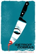 Image of The Detroit Cobras Silkscreen Poster - NEW