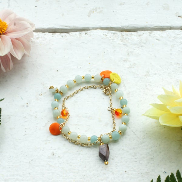 Image of Love Again bracelet  - Amazonite