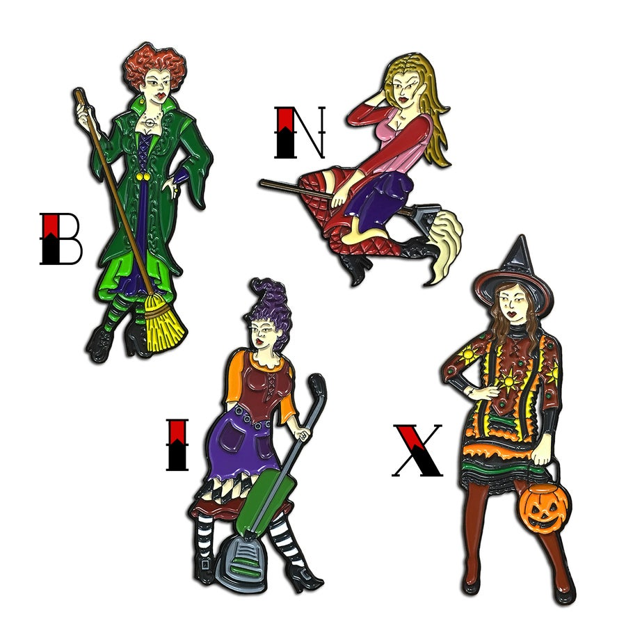Image of Witchy Gals - Lapel Pin