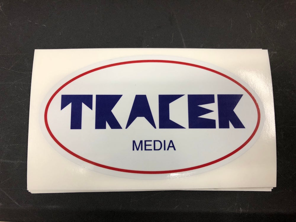 """tracer media"" nismo style decal"