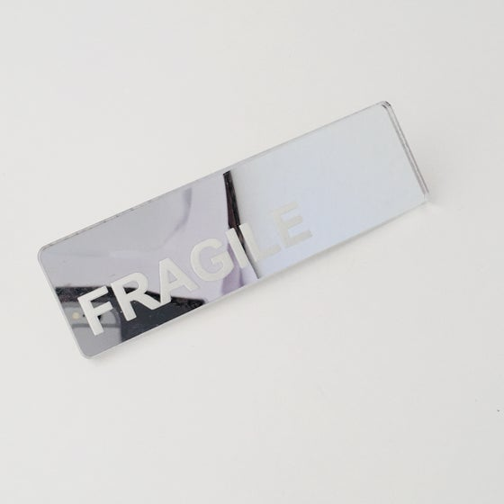 Image of Not Fragile Mirror Earring