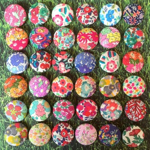 Image of Liberty Buttons & Liberty Tana Lawn Scrap Bundles