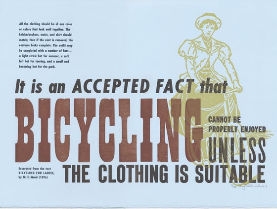 Image of Bicycling for Ladies
