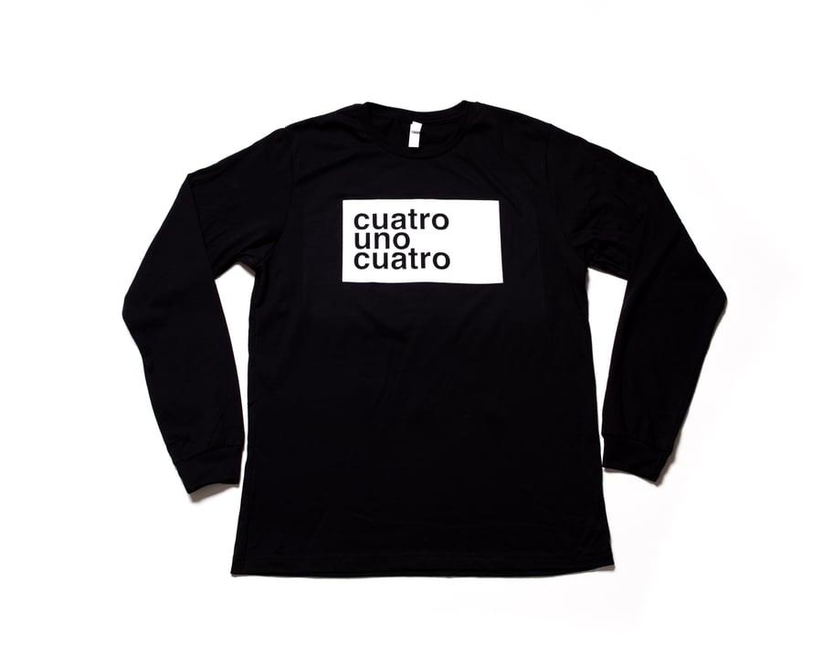 Image of CUATRO UNO CUATRO - LONG SLEEVE - UNISEX