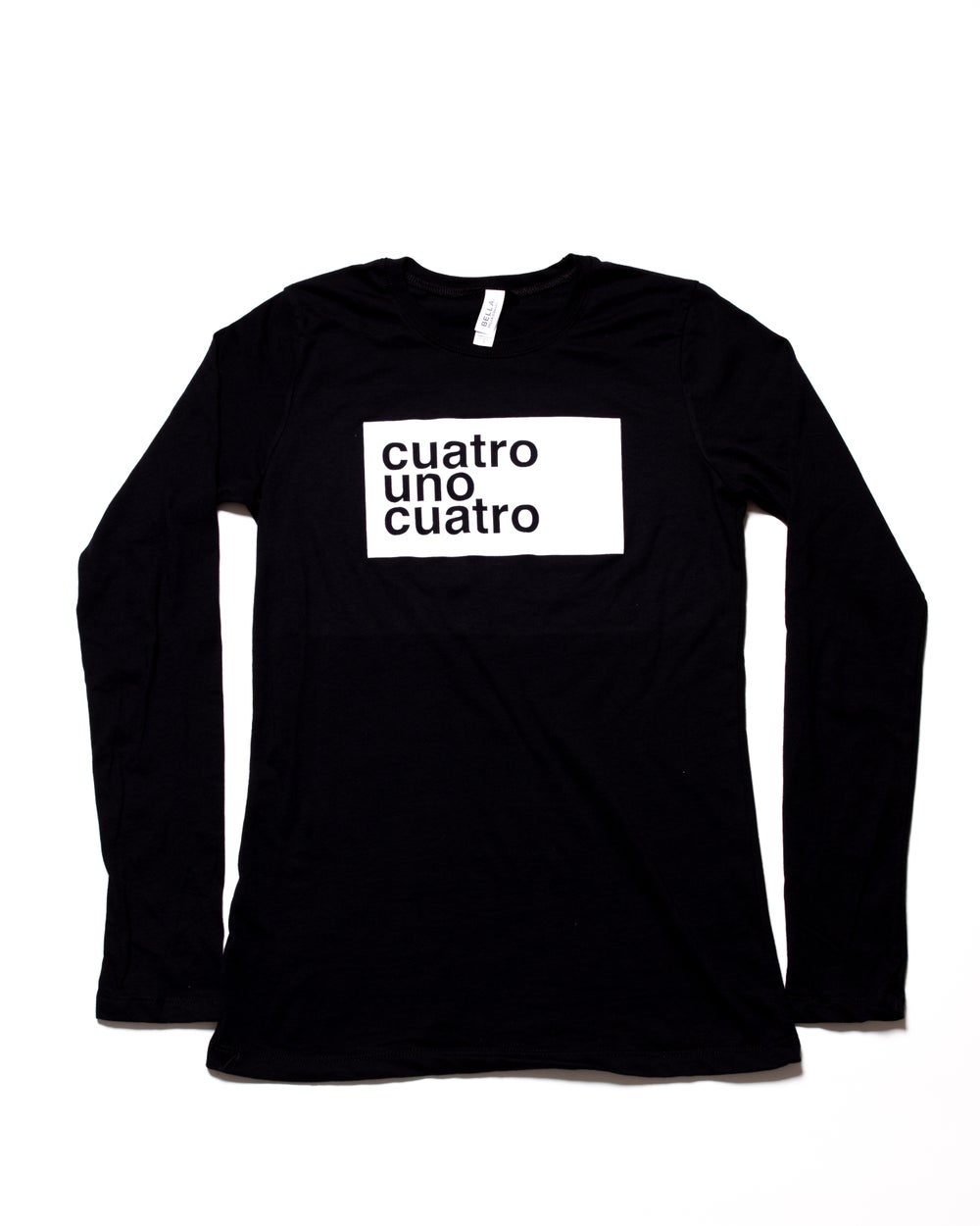 Image of CUATRO UNO CUATRO - LONG SLEEVE - WOMEN'S
