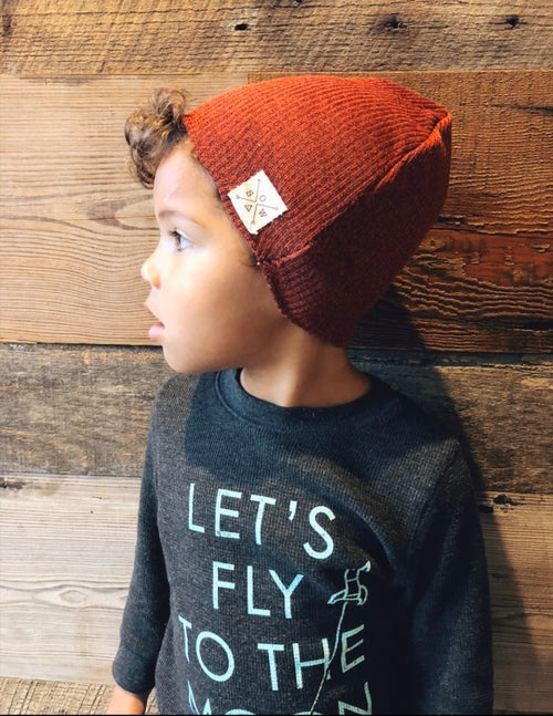 Image of Littles Rusty Beanie