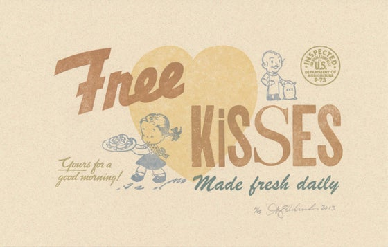 Image of Free Kisses