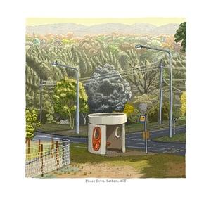 Image of Latham, Florey Drive, digital Print