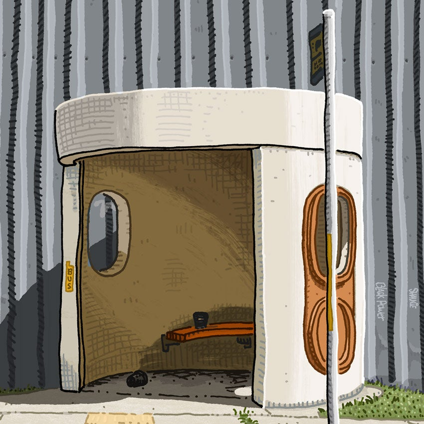 Image of Nyrang Street, Fyshwick, digital print