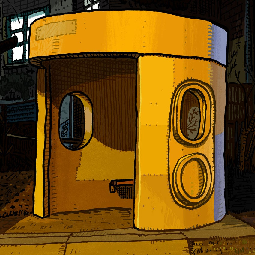 Image of Belconnen, Hennessy Street, digital Print