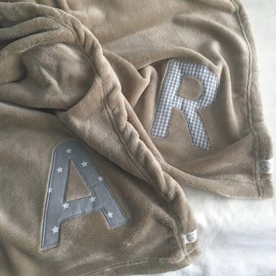 Image of custom blanket / manta personalizada / manta personalizada
