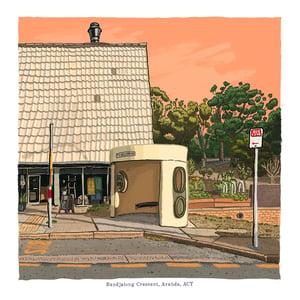 Image of Aranda, Bandjalong Crescent, digital Print
