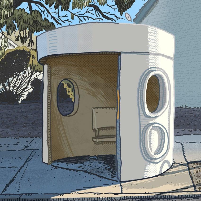 Image of Duffy, Burrinjuck Crescent, digital print