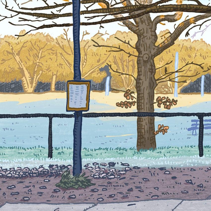 Image of Reid, Limestone Avenue, digital print