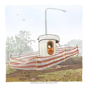 Image of Wanniassa, Sternberg Crescent, digital print