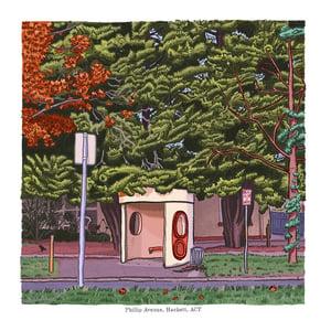 Image of Hackett, Phillip Avenue, digital print