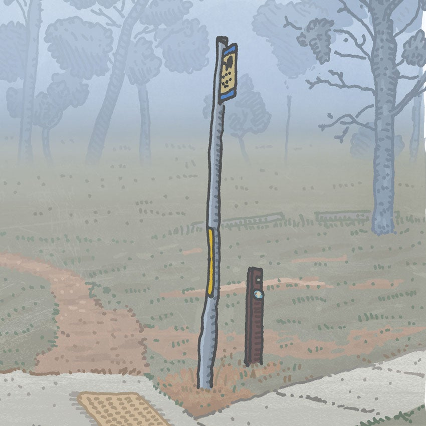 Image of Kambah, Barritt Street, digital print