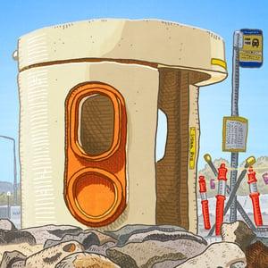 Image of Amaroo, Mirrabei Drive, digital Print