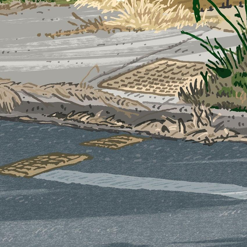 Image of Evatt, Owen Dixon Drive, digital print