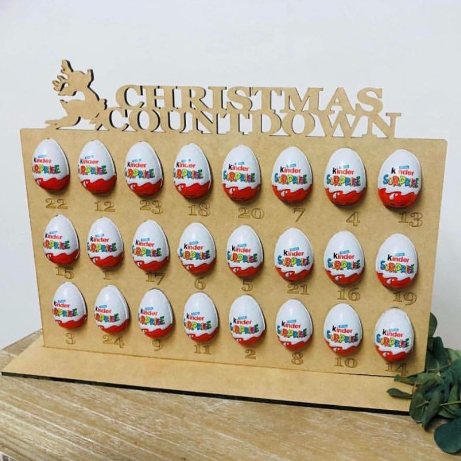 Image of Christmas Kinder Surprise Countdown