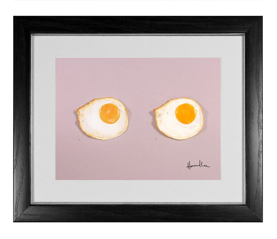 Image of Fried Egg Signed Print