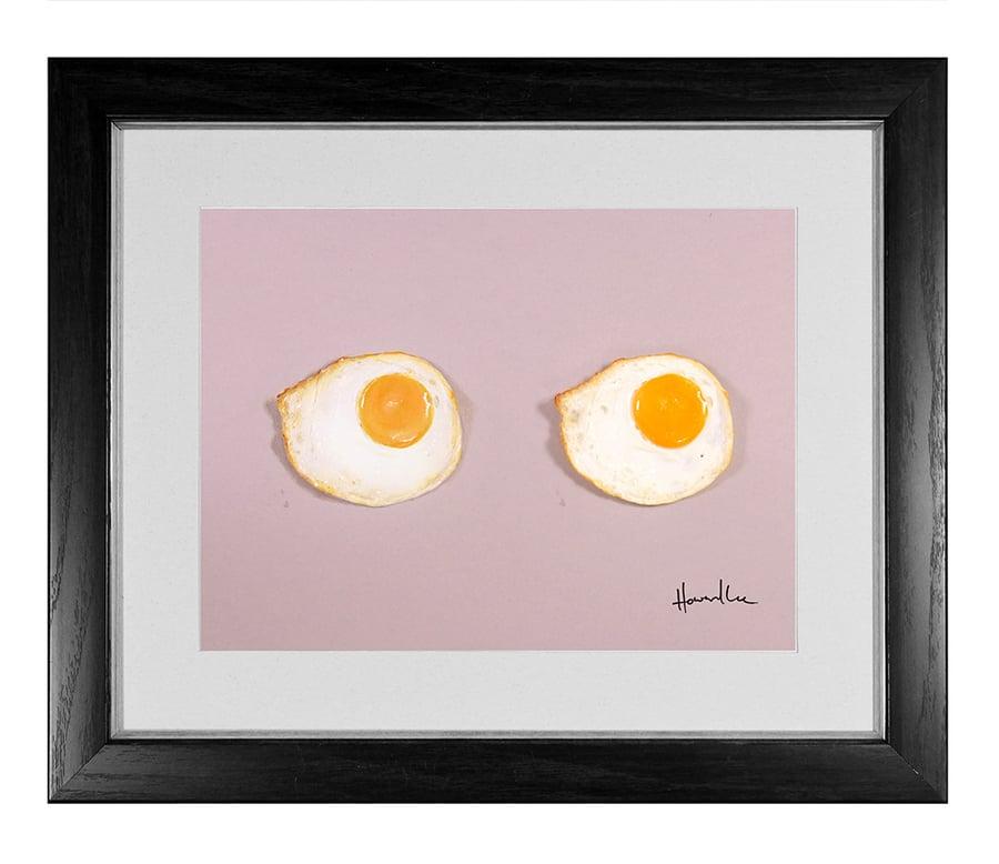 Image of Fried Egg Signed Print