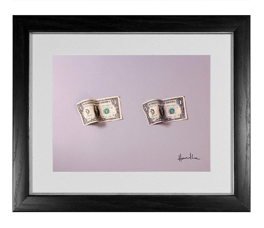 Image of Dollar Bill Drawing Challenge Signed Print
