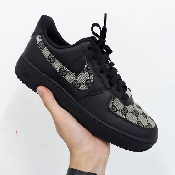 Image of Nike AF1 Gucci Custom - Special Edition 1 of 1