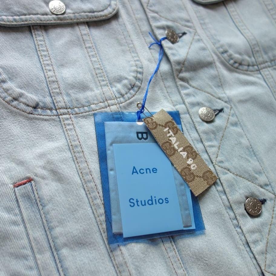 Image of Jesus Custom Jacket ft. Acne Studios