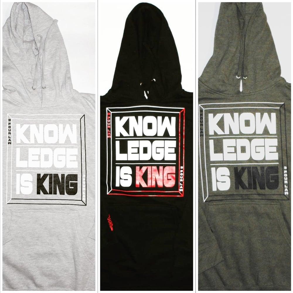Image of Knowledge Is King Hoodie