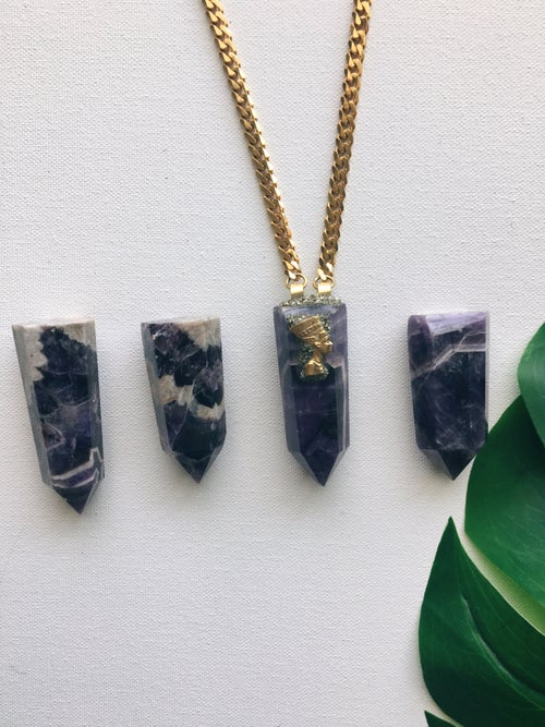 Image of NEFER ATUM • Amethyst